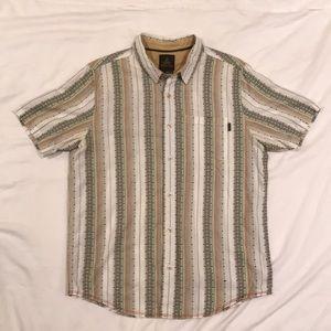 Prana Short Sleeve Outdoor Button Down Shirt